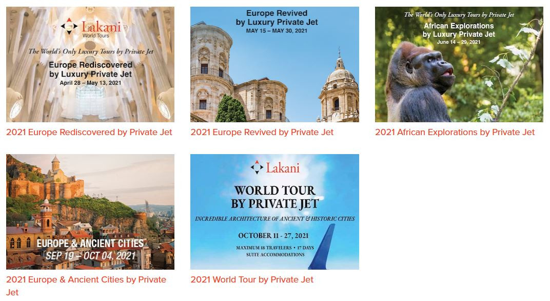 Private Jets for Private Worldwide Touring