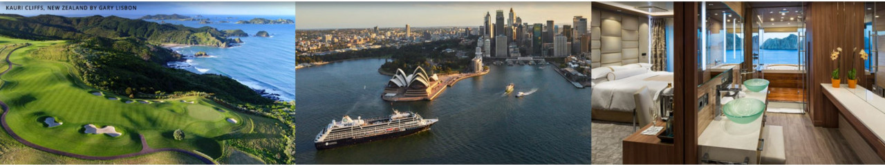 Worldwide Perry Golf Cruises with Azamara now open for 2022-23